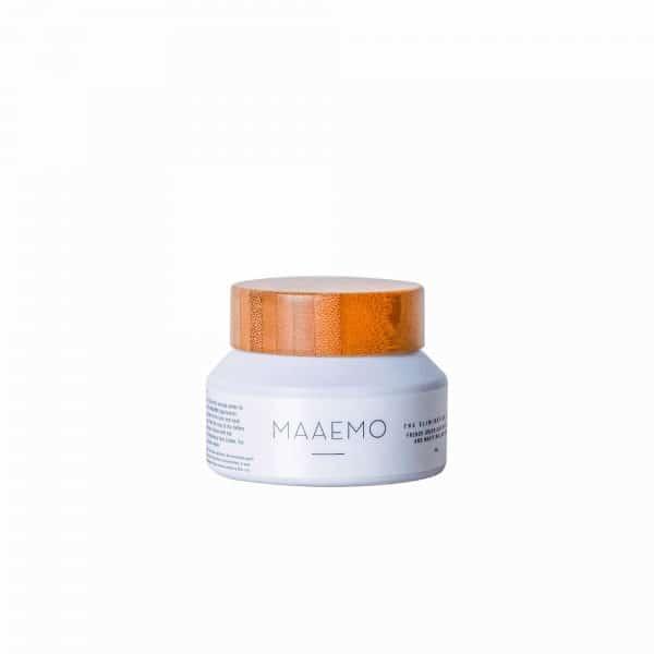 Face maske Maaemo Skincare.